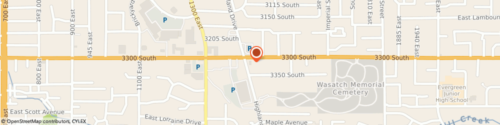 Route/map/directions to Burger King, 84106 Salt Lake City, 1430 East 3300 South