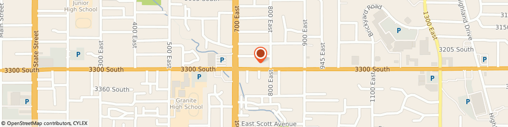 Route/map/directions to Electrolux, 84106 Salt Lake City, 745 EAST 3300 SOUTH