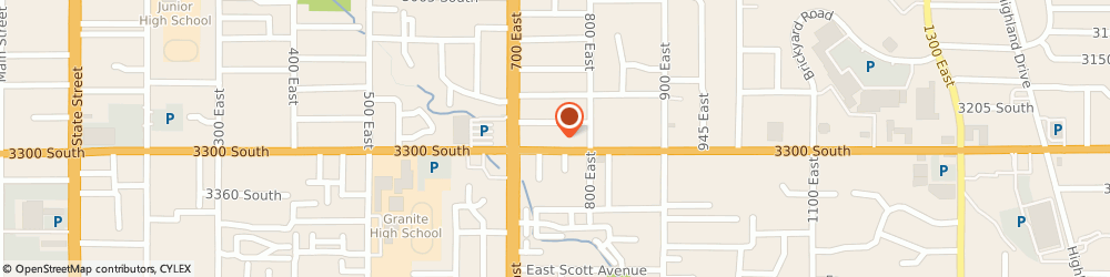 Route/map/directions to Aerus of Salt Lake City, 84106 Salt Lake City, 745 East 3300 South