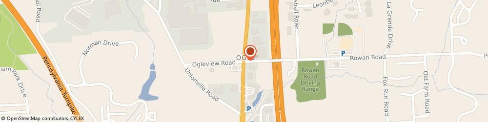 Route/map/directions to Erie Weber Agency LLC, 16066 Cranberry Township, 8001 Rowan Road Suite 217