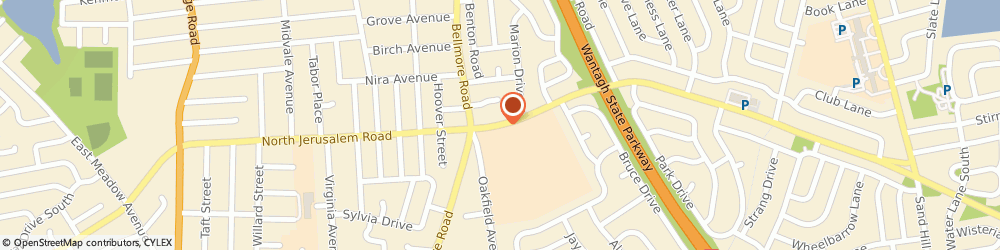 Route/map/directions to Curves For Women, 11554 East Meadow, 2815 NORTH JERUSALEM ROAD