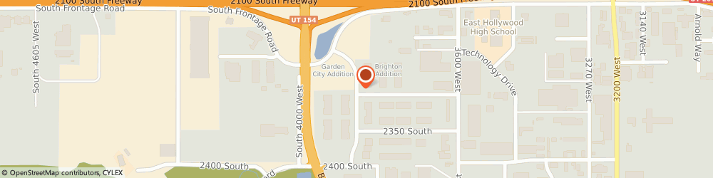 Route/map/directions to Rescue Rooter, 84120 Salt Lake City, 2232 Presidents Dr, # B