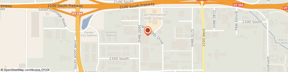 Route/map/directions to Cardinal Health, 84119 Salt Lake City, 3595 TECHNOLOGY DRIVE