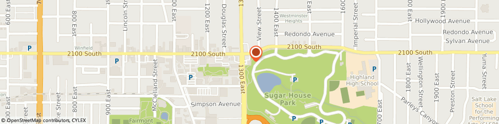Route/map/directions to Sizzler, 84106 Salt Lake City, 2111 S 1300 St E