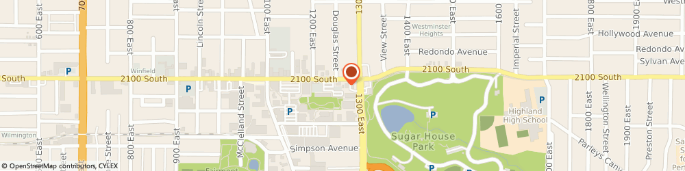 Route/map/directions to Chevron Food Marts, 84106 Salt Lake City, 2110 South 1300 East