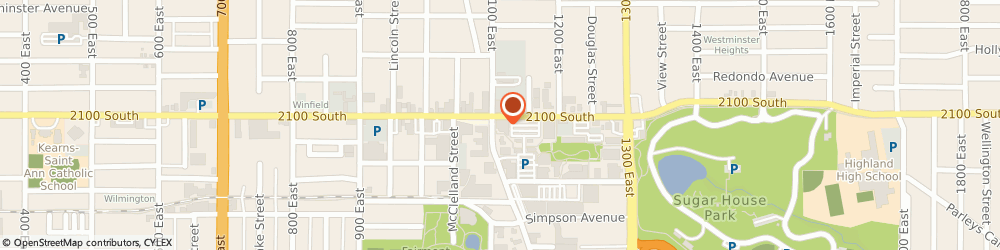 Route/map/directions to Barnes & Noble Sugarhouse, 84106 Salt Lake City, 1104 East 2100 South