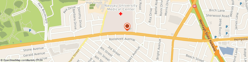 Route/map/directions to East Meadow Va Clinic, 11554 East Meadow, 2201 HEMPSTEAD TURNPIKE, BUILDING Q