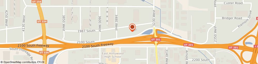 Route/map/directions to IBEW Local 354, 84119 Salt Lake City, 3400 W. 2100 S.