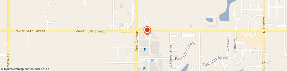 Route/map/directions to Burger King, 68847 Kearney, 110 West 56th St