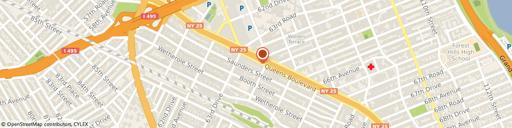 Route/map/directions to Radio Shack, 11374 Rego Park, 9650 QUEENS BOULEVARD