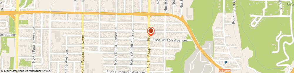 Route/map/directions to PNC Bank, 61603 Peoria, 3429 N Prospect Rd