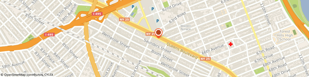 Route/map/directions to Pizza Hut, 11374 Rego Park, 9608 Queens Blvd