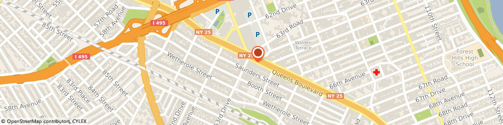 Route/map/directions to Rite Aid, 11374 Rego Park, 95-14 63rd Drive