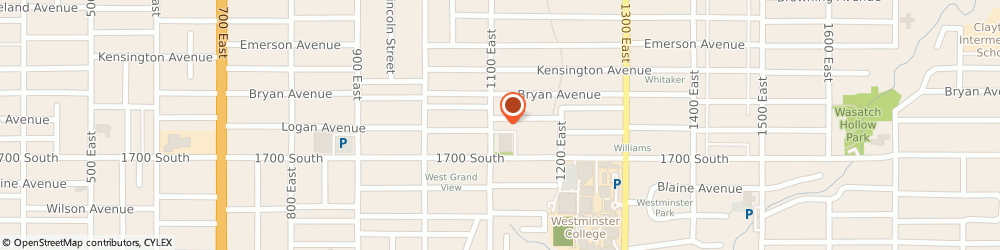 Route/map/directions to 7-Eleven, 84105 Salt Lake City, 1609 South 1100 East