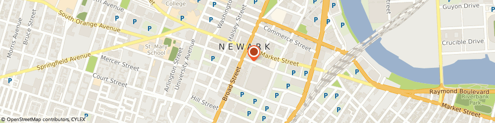 Route/map/directions to The Ainsworth - Newark, 07102 Newark, 810 Broad St
