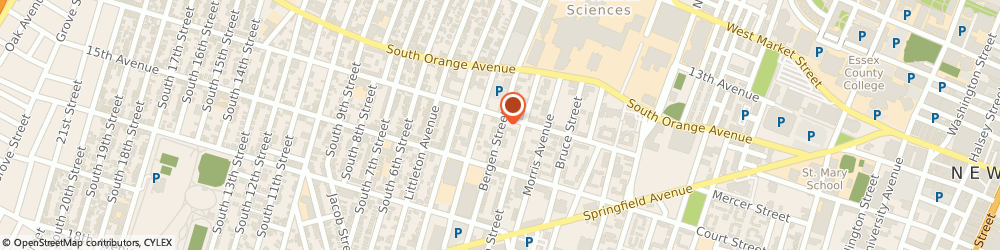 Route/map/directions to Humanity Baptist Church, 07103 Newark, 235 Bergen St