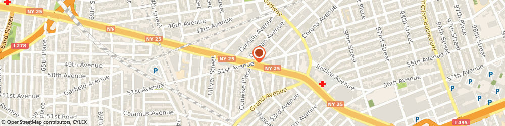 Route/map/directions to KFC, 11373 Elmhurst, 8223 QUEENS BOULEVARD