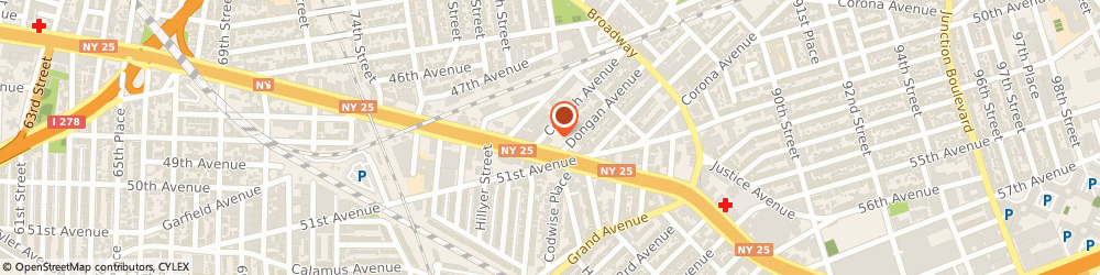 Route/map/directions to McDonald's, 11373 Elmhurst, 80-03 Queens Blvd