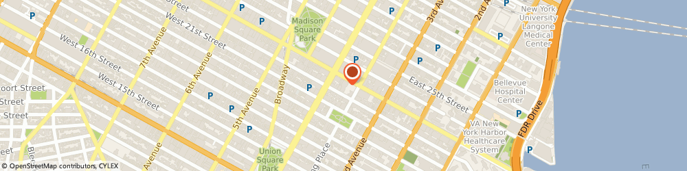 Route/map/directions to Uneebo Office Interior Designers, 10010 New York, 120 E 23rd Street