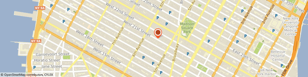 Route/map/directions to Artistic Tile, 10010 New York, 38 West 21 St.