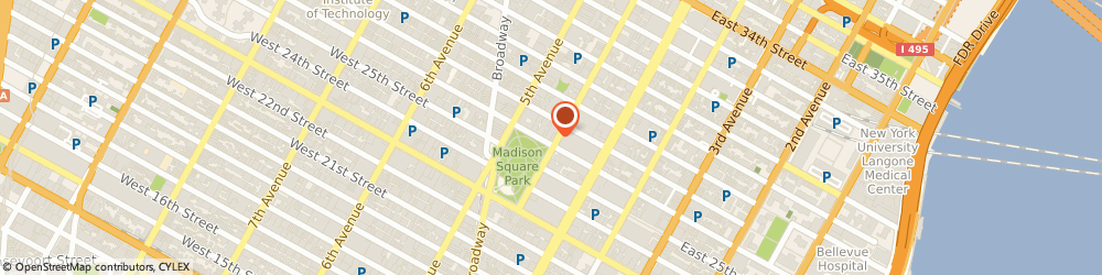 Route/map/directions to OrthoK.nyc, 10010 New York, 50 Madison Avenue