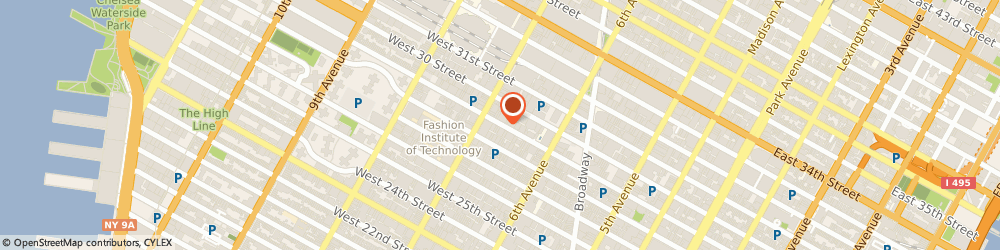 Route/map/directions to CANAAN JAPANESE RESTAURANT, 10001 New York, 154 W 29TH ST