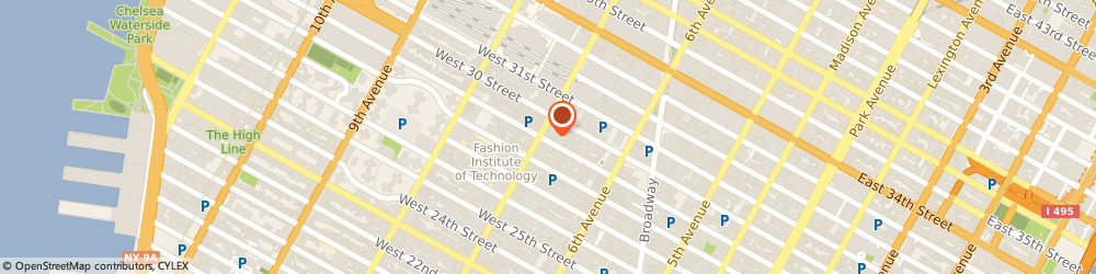 Route/map/directions to HEALTHY CHOICE GOURMET DELI PIZZA, 10001 New York, 341 7Th Ave