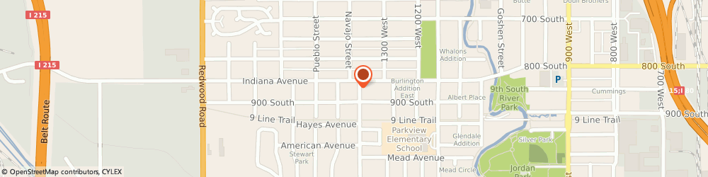 Route/map/directions to 7-Eleven, 84104 Salt Lake City, 1353 Indiana Ave