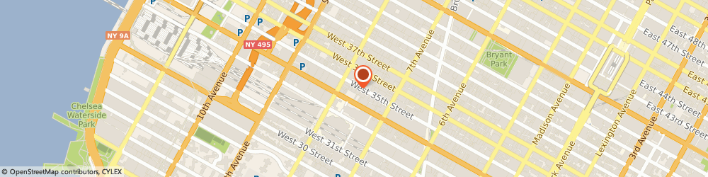 Route/map/directions to Good Dog, 10123 New York, 254 W 35th St