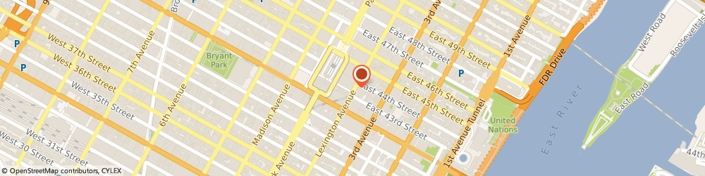 Route/map/directions to NAPOLEON ART & PRODUCTIONS INCORPORATED, 10170 New York, 420 LEXINGTON AVENUE RM 3020