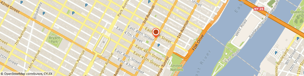 Route/map/directions to KAUFMAN SCOTT YACHTS INCORPORATED, 10017 New York, 249 EAST 48TH STREET APT 4A