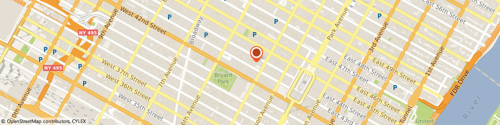 Route/map/directions to WILLIAMS CLUB, 10036 New York, 15 West 43rd Street