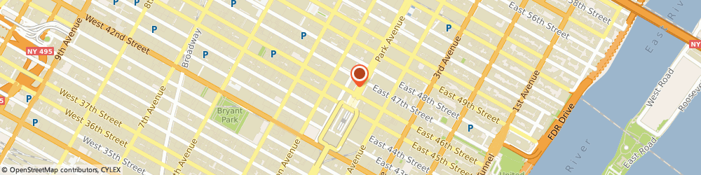 Route/map/directions to Breast Thermography International NYC, 10177 New York, 250 Park Ave