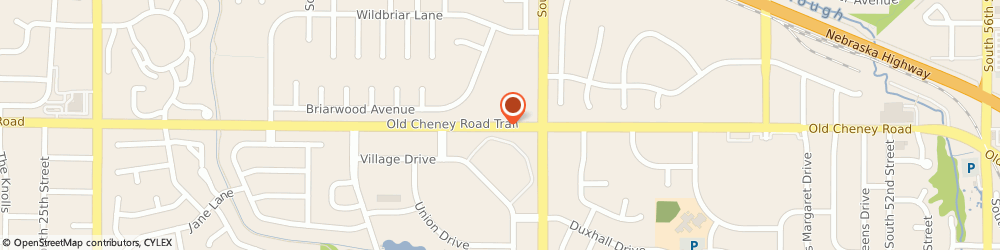 Route/map/directions to Ups Store, 68516 Lincoln, 3800 OLD CHENEY ROAD SUITE 101