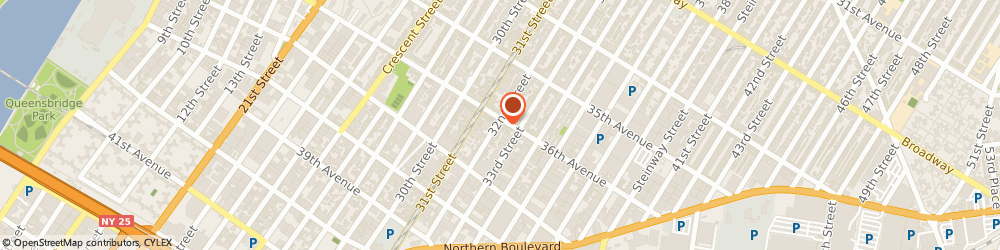 Route/map/directions to Choice Atm Corp, 11106 Long Island City, 3202 36TH AVE