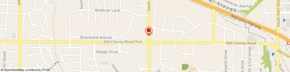 Route/map/directions to The UPS Store, 68516 Lincoln, 3900 Old Cheney Road