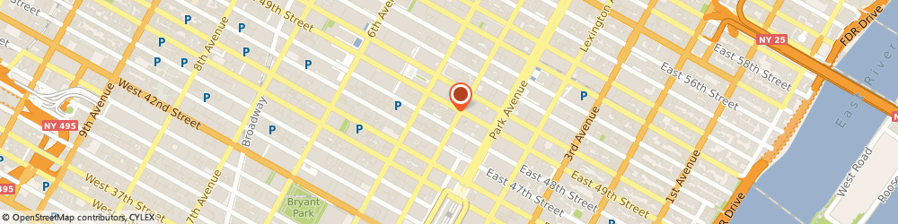 Route/map/directions to Manhattan Total Health, 10017 New York, 22 East 49th St.