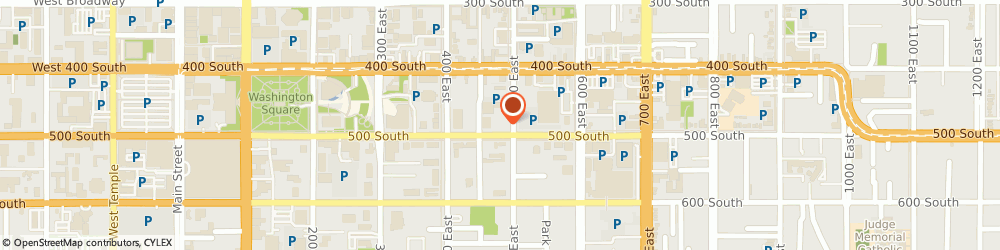 Route/map/directions to H&R Block, 84111 Salt Lake City, 475 E 500 S