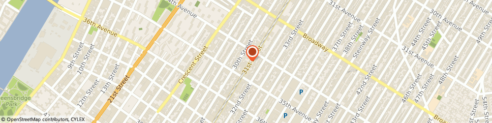 Route/map/directions to G P Mechanical, 11106 Astoria, 34-26 31St Street