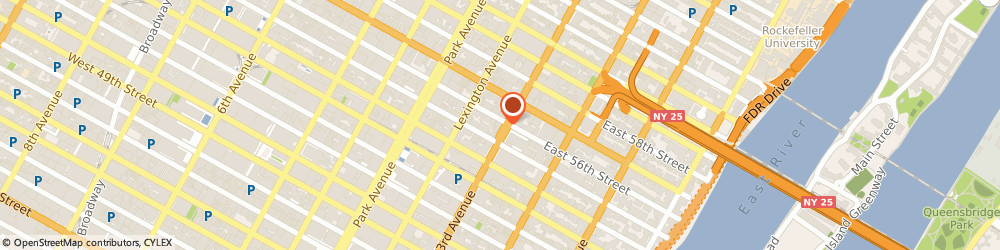 Route/map/directions to Johnny Rockets - 56th & 3rd, 10022 New York, 930 Third Avenue