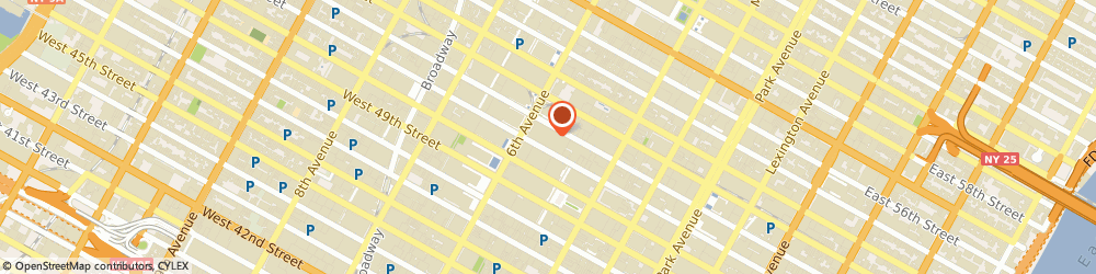 Route/map/directions to STARBUCKS COFFEE, 10104 New York, 1290 Sixth Avenue