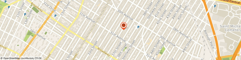 Route/map/directions to Haller Family Eye Center, 11103 Astoria, 30-74 36th Street