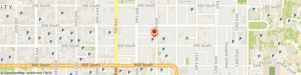 Route/map/directions to Cedar Cliff Apartments, 84102 Salt Lake City, 250 SOUTH 900 EAST