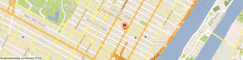 Route/map/directions to EASTSIDE GYNECOLOGY, 10017 New York, 225 EAST 64TH STREET