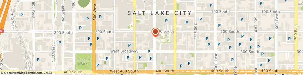 Route/map/directions to Professional Lists, Inc Of Salt Lake City UT, 84101 Salt Lake City, 222 S. Main Street, 5th Floor