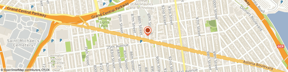 Route/map/directions to McDonald's, 11369 East Elmhurst, 88-05 Astoria Blvd