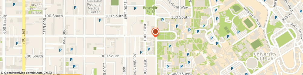 Route/map/directions to University Pharmacy, 84102 Salt Lake City, 1320 East 200 South