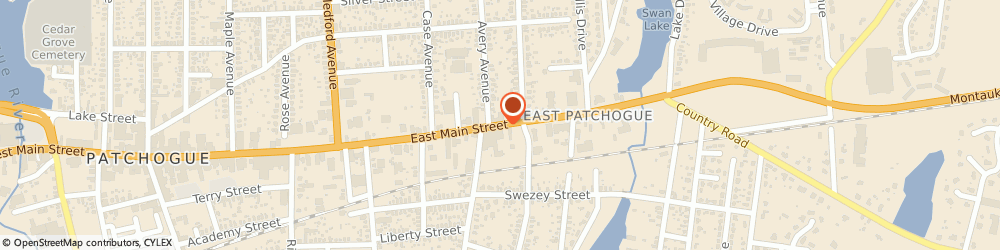 Route/map/directions to Salvation Army, 11772 Patchogue, 414 E MAIN ST