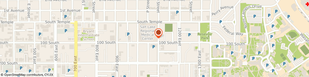 Route/map/directions to The Apothecary Shoppe, 84102 Salt Lake City, 82 South 1100 East, Suite 104