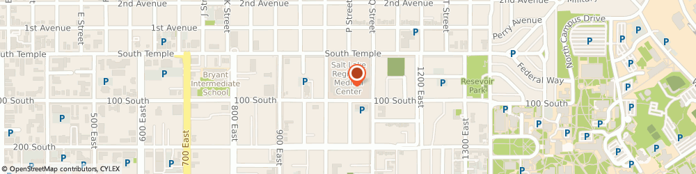 Route/map/directions to Medical Center Pharmacy, 84102 Salt Lake City, 1050 East South Temple